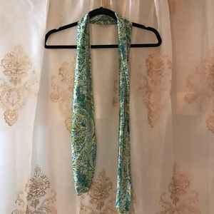 Accessories - Green Paisley Scarf 🌿